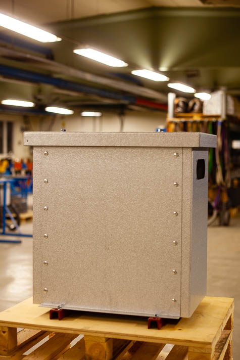 3-Fas Transformator 5-50 kVA IP23 - Bak